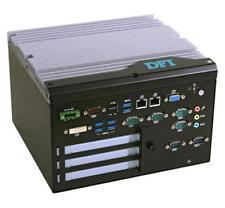 Fanless, i7/i5/i3, H81, 1 VGA, 1 DVI, 6 COM, 8 USB, 8-bit DIO, 1 PCI, 2 PCIe x1