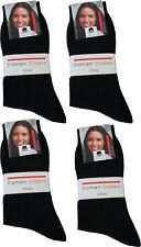 20 Paar Damen Socken schwarz ohne Naht 100%Baumwolle  portofrei  Art.201