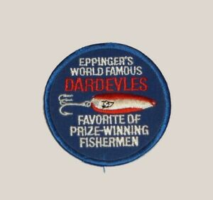 Vintage Eppinger's Dardevles Collectible Fishing Lure Patch