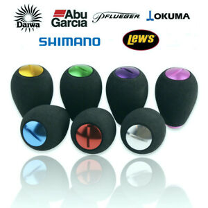 Abu Garcia Shimano Daiwa Reel Aluminum EVA Handle Knob Spinning Baitcasting