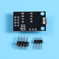 Development Programmer Board Micro USB for ATtiny13A/ATtiny25/ATtiny45/ATtiny85