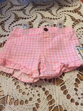 Shorts For Baby Girl, Size 0-3 Months, Garanimals Brand