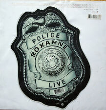 EX! THE POLICE ROXANNE  CAN'T STAND LOSING YOU Shaped Vinyl Picture Pic Disc