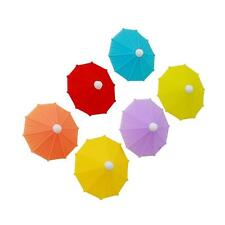 Cocktail Umbrellas Hawaiian Luau Tropical Party Cake Drink Toothpick Topper BT3