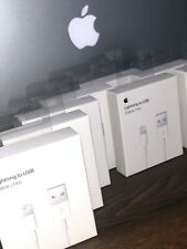 Apple Wholesale Lot ( 4 ) Md818Ama 1M Lightning to Usb Cable - White