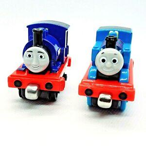 Thomas & Friends Tank Engine Take n Play Along Die cast Thomas & Sir Handel Lot