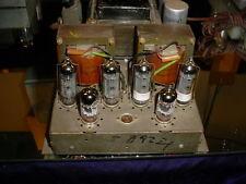 Vintage Grundig Tube Stereo EL84/7189/6BQ5 ECC83/12AX7 Amplifier from Console