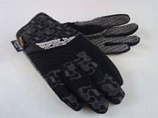 New FLY SWITCH SNOW GLOVE BLACK/GRAY BMX SNOWMOBILE THINSULATE Size 8 (ADULT SM)