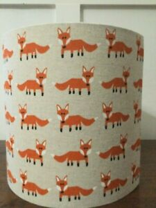 LAST ONE ! Cute Fox Handmade  Lampshade 20 cm for ceiling / table Lamp