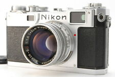 [NEAR MINT] Nikon S2 Rangefinder Film Camera + NIKKOR SC 50mm f/1.4 from JAPAN