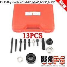 Pulley Puller and Installer Power Steering Pump Remover Alternator AC 13Pcs Kit