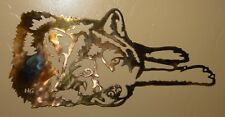"""Lazy Days Wolf Copper/Bronze Plated by HGMW 30"""" wide"""
