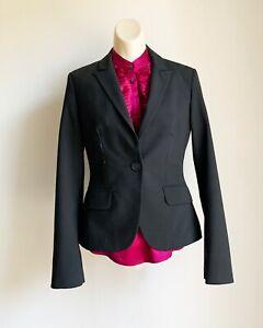 Black Express Design Studio Women's Blazer Coat Size 2