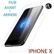 Film Protection arrière Pour IPHONE X + film avant Entier Total Intégral