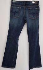 Guess Womens Jeans Denim Size 29 Stretch Boot Cut Dark Wash