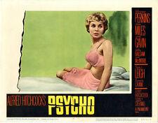 "Psycho  Movie Poster Replica 11x14"" Photo Print"
