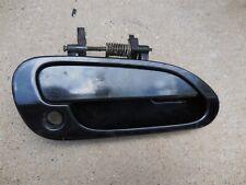 HO1311112 New Door Handle Front Passenger Right Side Smooth Black RH Hand Sedan