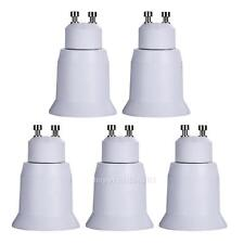 5x GU10 to E27 Base Screw Light Lamp Bulb Holder Adapter Socket Converter