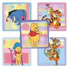 """25 Winnie the Pooh Playtime Stickers, 2.5"""" x 2.5"""" each, Party Favors"""