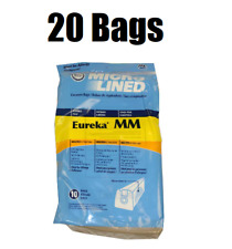 20 Micro Lined Vacuum Bags for Eureka Mighty Mite 3670 3680 Vacuums