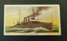 c1940 Hoadleys Trade Card Birth of a Nation #48 HMAS Melbourne vgc R A N