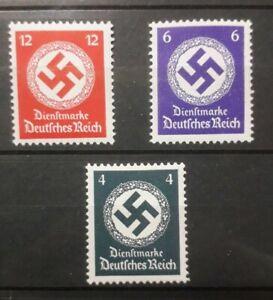 1934 GERMANIA TERZO REICH FRANCOBOLLI CON SVASTICA NUOVI