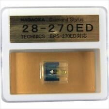 New Nagaoka Diamond Stylus G28-270ED for Technics EPS-27-ED National SL-2
