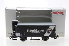 H0 Märklin Bierwagen Franziskaner Weissbier Güterwagen boxcar OVP/G37