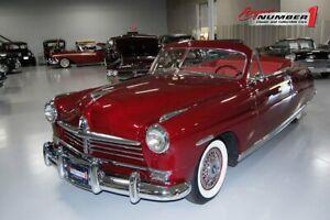 1949 Hudson Super Six Convertible