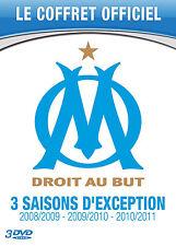 COFFRET 3 SAISONS D'EXCEPTION OM 3 DVD NEUF
