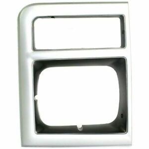 New Left Side Headlight Door Headlamp Bezel For Chevy R2500 Suburban 1989-1991