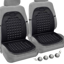 2x Car Seat Cushion Therapy Massage Padded Bubble Foam Chair Black Pad Cover
