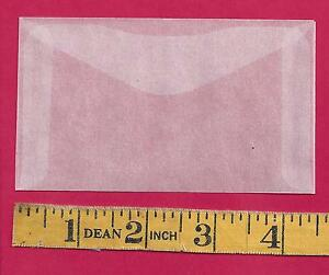 "50 NEW JBM #3 Glassine Envelopes 2-1/2"" x 4-1/4"""