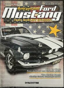 DEAGOSTINI BUILD YOUR OWN FORD MUSTANG 1967 SHELBY GT-500 - MAGAZINES ONLY