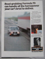 Dunlop Formula 70 Tyres Original advert No.1