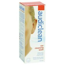 Audiclean Ear Cleansing Wash 60ml, easy to use, natural and preservative free
