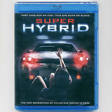Super Hybrid 2011 Science Fiction Horror thriller PG-13 car movie, new Blu-ray