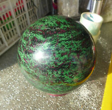 19.4LB  Polished Natural Ruby in Zoisite Sphere Ball Mozambique 14#