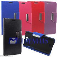 Funda para BQ AQUARIS 5.0 HD FNAC PHABLET Carcasa SOPORTE Flip Case Colores Iman