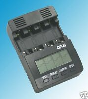 BT-C2000 V2.2 Battery Charger Analyzer Tester NiMH NiCd AA AAA C D 12 Volt Opus