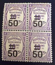 France Taxe N°51 50/10 Violet Neuf** Centrage De Choix TB Côté 44€