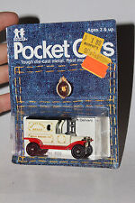 TOMY TOMICA POCKET CARS #134-F13 1915 FORD MODEL T DELIVERY, HAPPY HOME BREAD #4