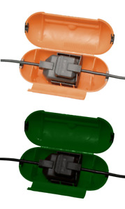Masterplug Splashproof Extension Lead Plug Socket Protector Outdoor Power Cover