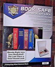 Secret Locking Safe Blue Dictionary Book Storage Box Security Money Jewelry Guns