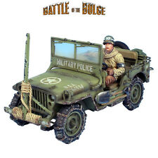 First Legion: BB004 US Military Police Willys Jeep with Wire Cutter and Driver