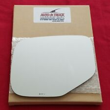 Mirror Glass + Adhesive For 06-14 Honda Ridgeline Driver Side Replacement-Heated