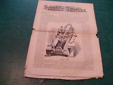 Orig. SCIENTIFIC AMERICAN 1861 Aug 24; Vol V #8 RIFLING CANNON, ETC