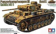Tamiya 35215 1/35 Model Tank Kit German PzKpfw Panzer III Ausf. L Sd.kfz 141/1