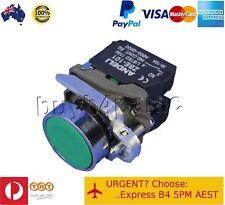 10x XB4-BA35 Push Button Switch Green Flush NO NC N/O N/C 240V AC Mains 22mm