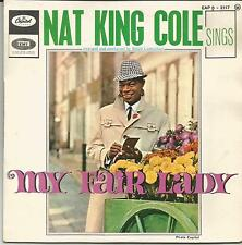 NAT KING COLE Sings MY FAIR LADY FRENCH EP CAPITOL 1963